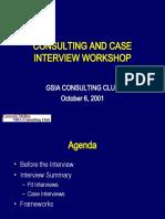 Case Workshop Carnegie Mellon