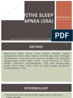 14. Obstructive Sleep Apnea