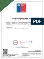 Certificdo de Estudios