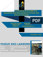 Mangrove Ecotourism Development in Balikpapan and Implications of Ecology and Geology Processes Print