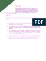 PARTICIPACIÓN EN EL FORO modulo 1