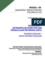 SKKNI 2005-094 - Operator Komputer