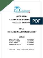 Chidren as Consumer