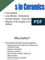 Defects in Ceramics