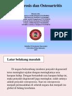 Osteoporosis Dan Osteoartritis PPT