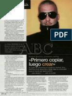 Alfonso Madrigal Disennador Grafico ABC
