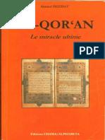 Ahmed Deedat - Coran le miracle ultime.pdf