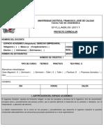 Syllabus-158 Derecho Empresarial