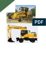 Maquinaria de Construccion USADA EN DISTINTOS PROYECTOS