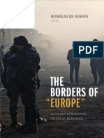 De Genova the Borders of Europe, Introduction