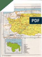 Mapa Del Estado Miranda Antiguo