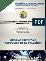 Organo Ejecutivo de La Republica de El Salvador