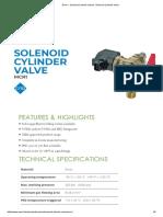 Emer » Solenoid Cylinder Valves »Solenoid Cylinder Valve