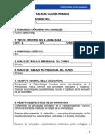 Paleontologia Humana Eugenio Aspillagapdf