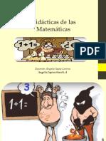 DIDÁCTICA DE LAS MATEMÁTICAS 4°