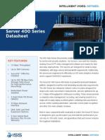 SecurOS VMS Server 400 Datasheet En