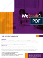 WeSpeak_at a Glance