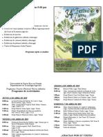 Programa 34 Festival Tierra Adentro
