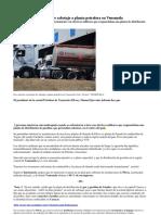 Dos muertos en intento de sabotaje a planta petrolera en Venezuela.docx