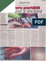 El libro portátil de ayer y hoy, Mario Rommel Arce Espinoza