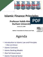 (2) Islamic Finance Principles