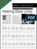 Larry Coryell's Walking Bass Lines