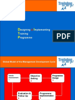 Designing and Implementing Training Programme