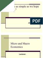 Micro and Macro Economics 1