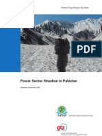 Pakistan GTZ Power Sector Overview