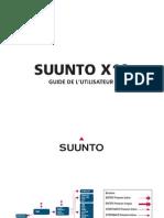 Suunto X10 Manuel