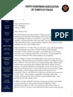 Police Chiefs' letter to Kim Foxx