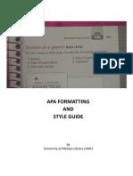 Guideline for APA