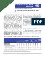 UNPD Policy Brief -1.  March  2009.