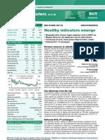 BNP Paribas - Satyam Computers - Healthy Indicators Emerge