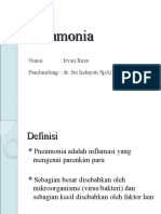 Pneumonia Presentation