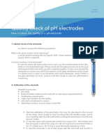 Quality Check for PH Electrodes 600 KB English PDF