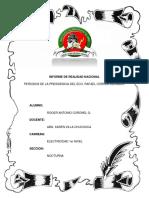 Informe de La Presidencia Del Eco. Rafael Correa