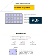 Physics of Materials 9 Dielectric Properties