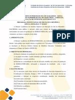 Programa Institucional de Iniciação Científica Edital Iesma-dac 03 2019