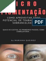 eBook Iniciar Na Micropigmentacao