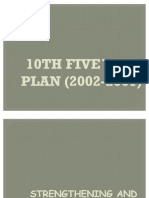 10th Five Year Plan (2002-2007)