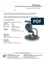Caliper Thickness Gauge (Digital) - S10D-S1D