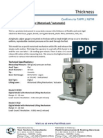 Caliper Thickness Gauge (Motorised Digital) - M10D-M1D