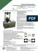 Cone Compression - P300D