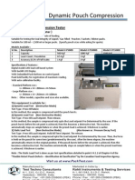 Pouch Compression Tester - P1500D
