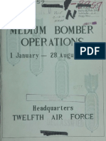 WWII 12th Air Force Bomber Report