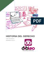 Historia Del Derecho Dibleo
