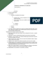 Procedimientos Ordinarios Derecho