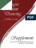Laird,Walter - Technique of Latin Dancing Supplement