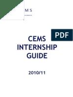 CEMS Internship Guide 2010-11